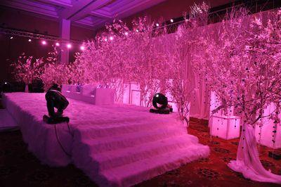 Photo of all white decor