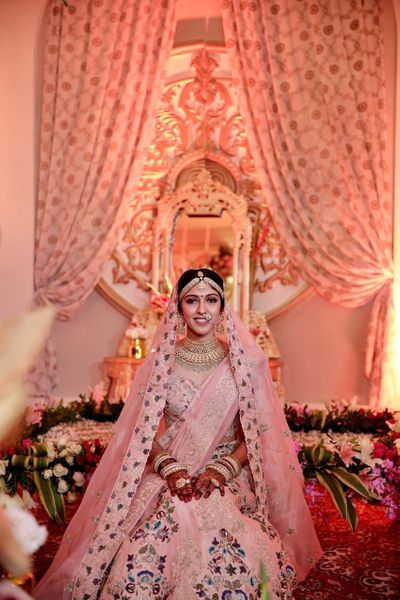 Photo of subtle bridal makeup we loved!