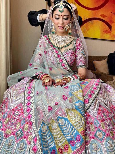 Photo of Unique bridal lehenga