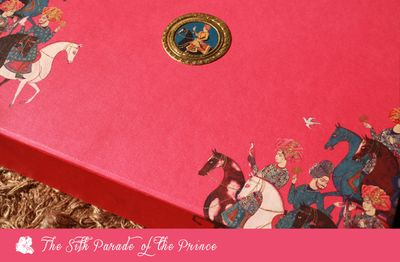 Photo of hot pink boxed invitation
