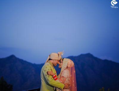Photo of Happy couple sunset shot