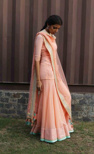 Photo of peach sharara