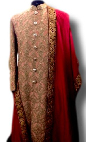 Photo of threadwork anarkali
