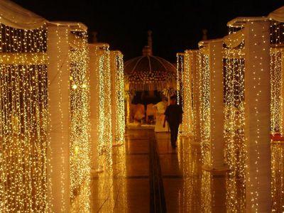 Photo of Fairy Lights Entrance Decor