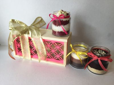 Photo of cake jars