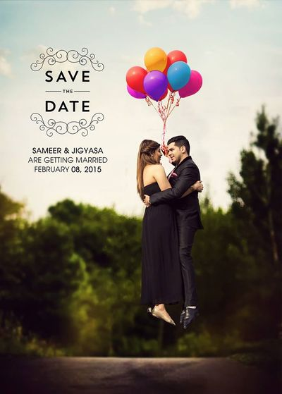 Photo of save the date idea