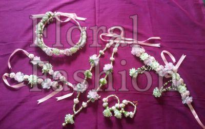 bipasha basu inspired floral jewellery