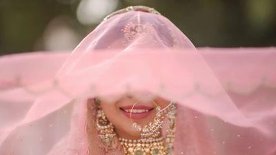 Saman And Mannat - Reception look, Wedding Shoot, Bride Shoot  - Safarsaga Films