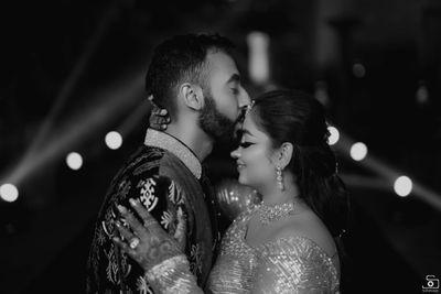 Kinjal and Prince - Sangeet Outfit - Safarsaga Films