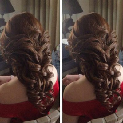 hairstyle by Mumbaimakeupartist team