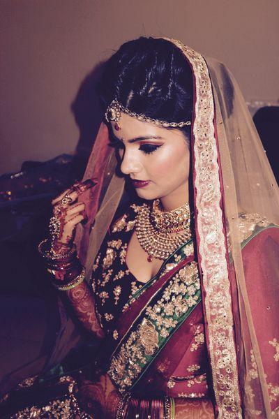 Malvika's wedding pic