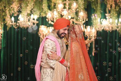 Mandeep and Harpreet  - Best Wedding Shoot in Delhi - Safarsaga Films