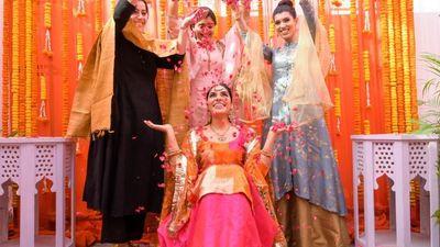 Jashan On Her Haldi Ceremony - Chandigarh - Safarsaga Films