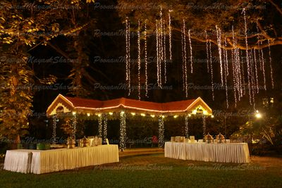 Night Garden Wedding
