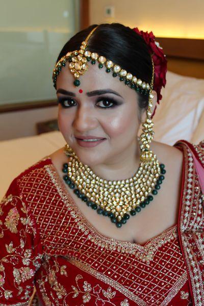 Bride Shubhangi