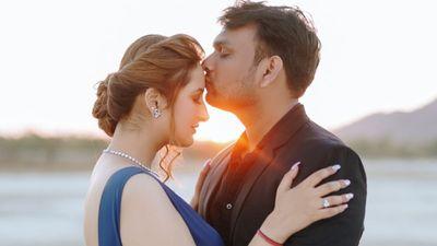 Akshay and Priyanka - Jaipur Prewedding Shoot - Safarsaga Films