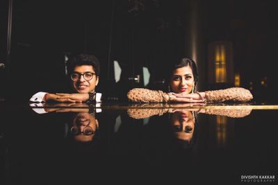 Sabyasachi, Chandeliers and everything nice; Sakshi + Nishant