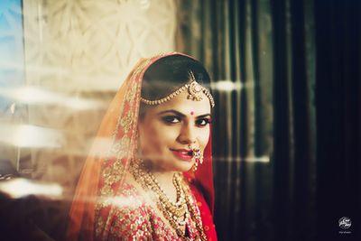 Parul Engagement & Bridal Makeup by Shruti Sharma