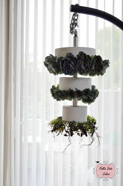 chandelier cakes series