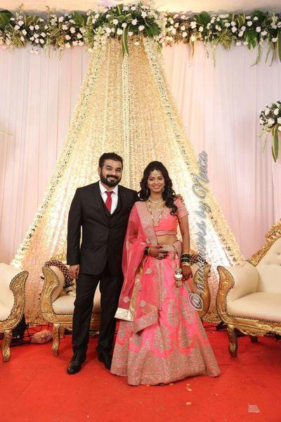 praniti's wedding, reception and cocktail looks
