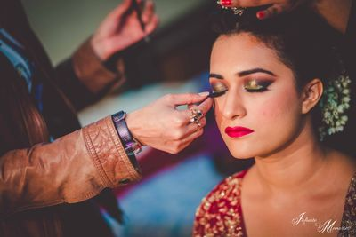 Punjabi Bride_Sharin, looking like a dream on her Wedding Day