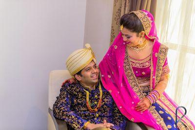Jatin weds Ipsita