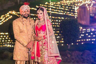 Himali's wedding