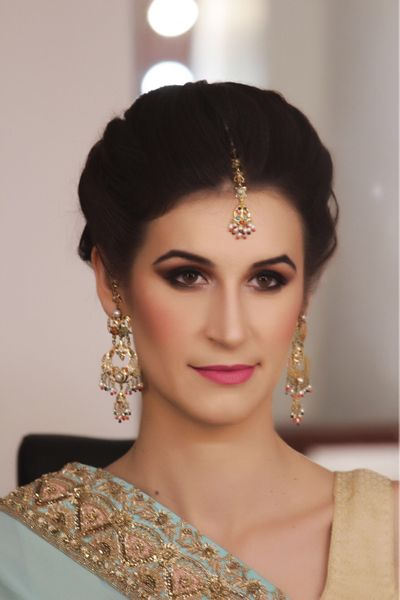 Indo Western Bridal Makeover by Parul Garg
