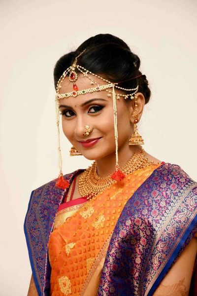 priya's wedding and reception look