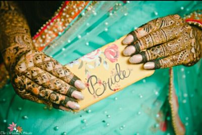 shikha and Jatin Choudhary mehendi ceremony