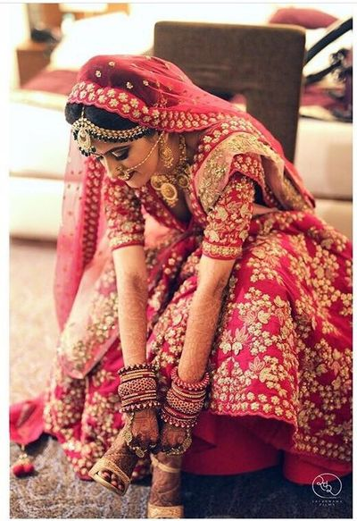 North Indian bride