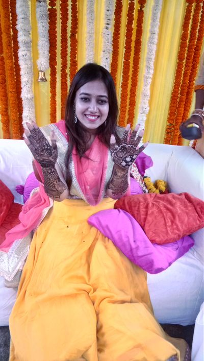 Nikita mehendi ceremony at imperia hotel,  gurgaon on 17 nov