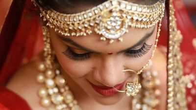 Beautiful Garima (SabyasachiBride) on her Wedding