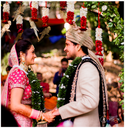 Rishibha & Chirag's Quirky Rishikesh Wedding