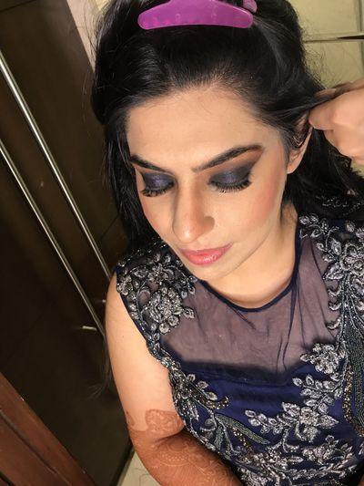 Nikita's Engagement Makeup
