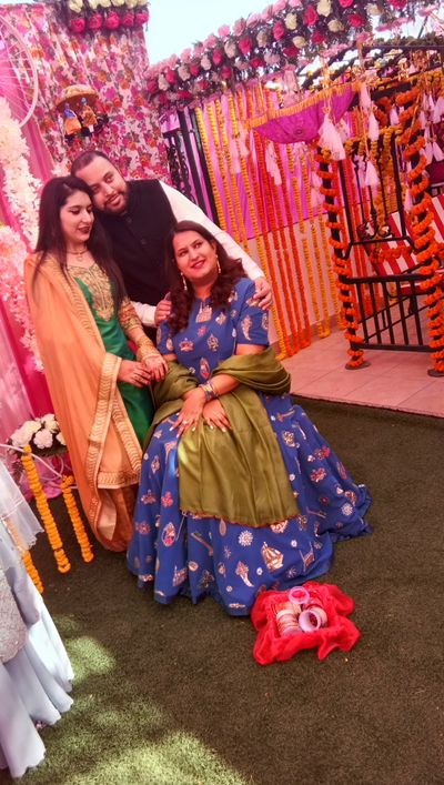 Dr Sanya Brar bridal mehendi ceremony at Patiala on 6 Dec 2017