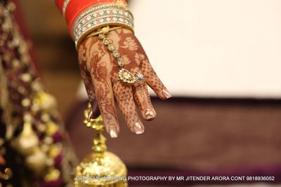Kirti bridal mehendi at Pitampura on 21 Jan 2018