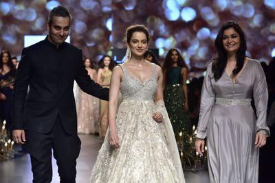 'Wonderland' at Lakme Fashion Week with Kangana Ranaut