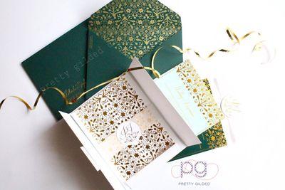 Jeweled Ivory- Emerald