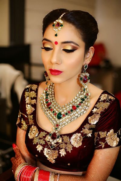 Bridal, Engagement & Party Makeup Look