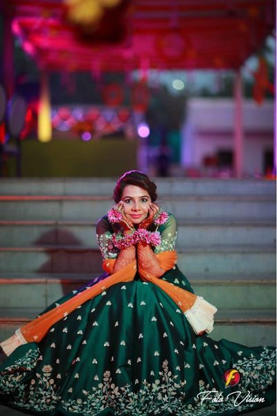Kirti bridal mehendi ceremony on 3rd feb 2018 at ORANA Resorts, delhi