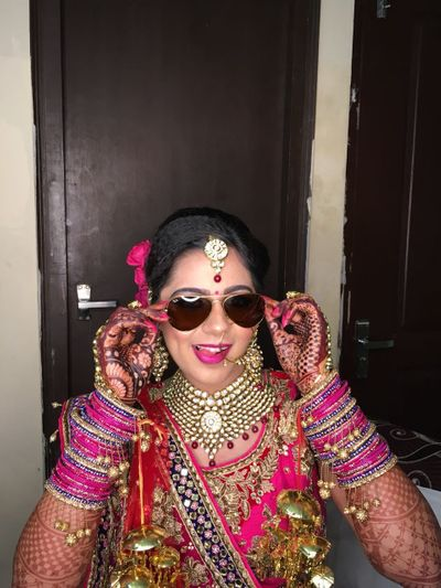 Khushi Bridal Mehendi at karnal on 14th Feb 2018