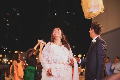 Fedora & Rohit, Church Wedding