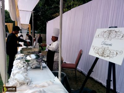 Catering for RamVilas Paswan