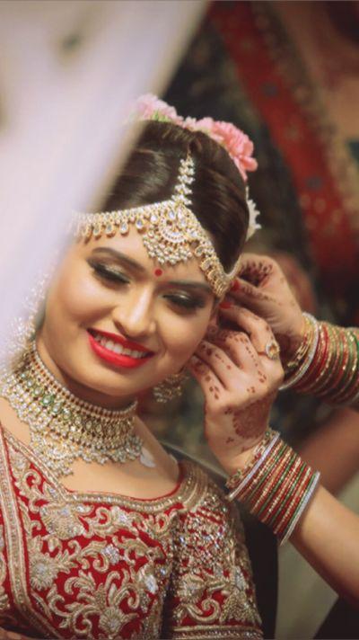 Rajasthani bride Kriti