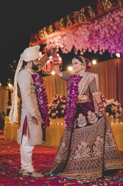 Destination wedding/ Royal Sabyasachi bride