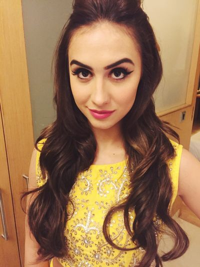 Makeup for Actress cum Dancer Lauren gottlieb from the Jhalak dikhlaja fame