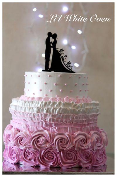 Whipped cream Fantasy Wedding