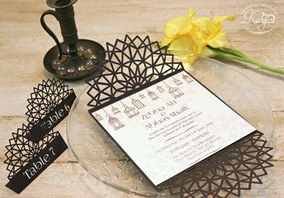 Ornate Mandala Wedding Invitation