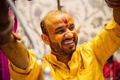 Haldi n Mehandi : Dhruva Weds Kanupriya